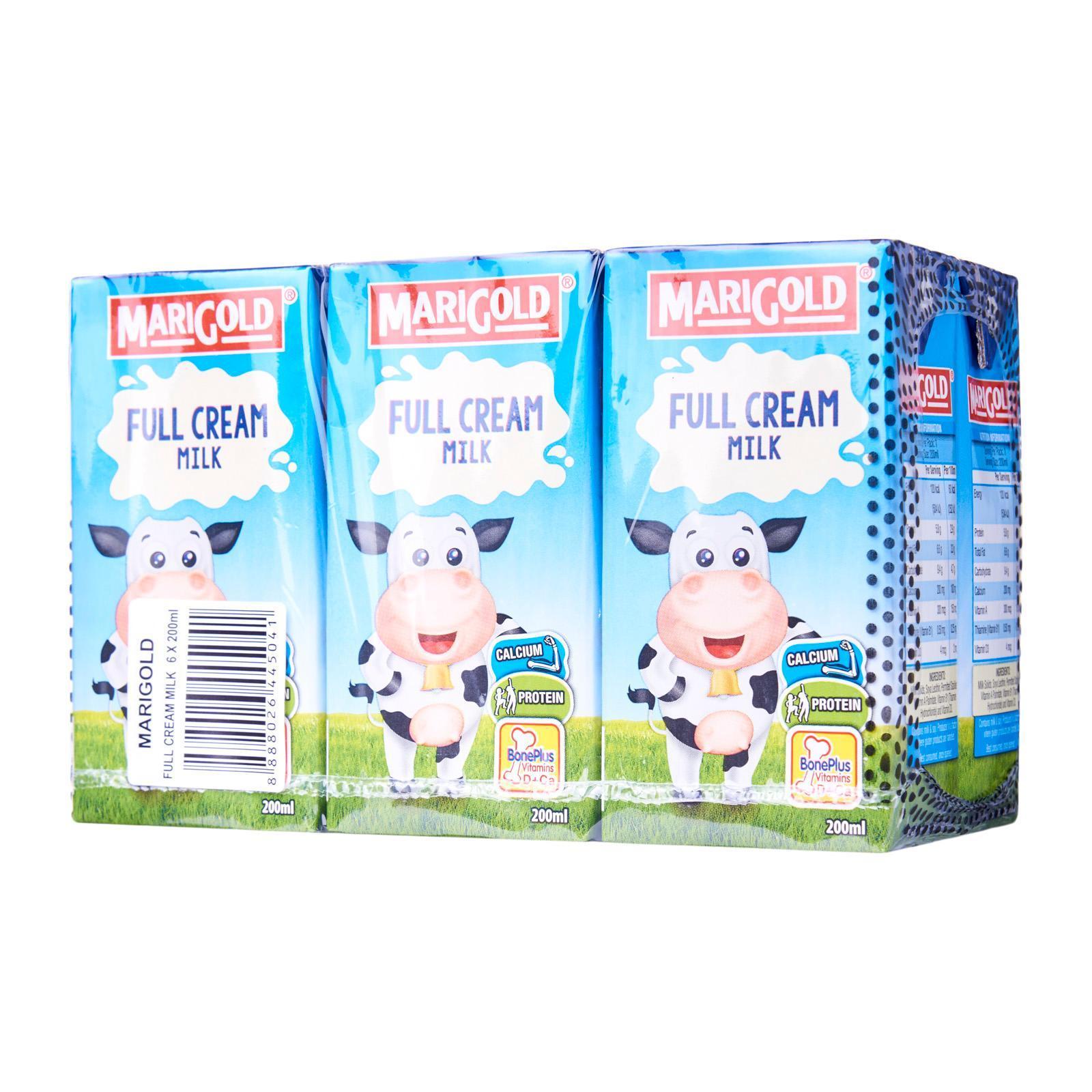 MARIGOLD UHT Full Cream Milk 6sX200ml