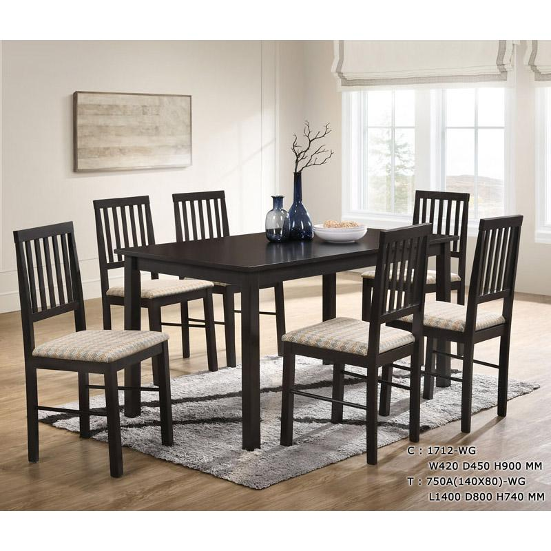 Elve 1+6 Dining Set (Free Delivery and Installation)