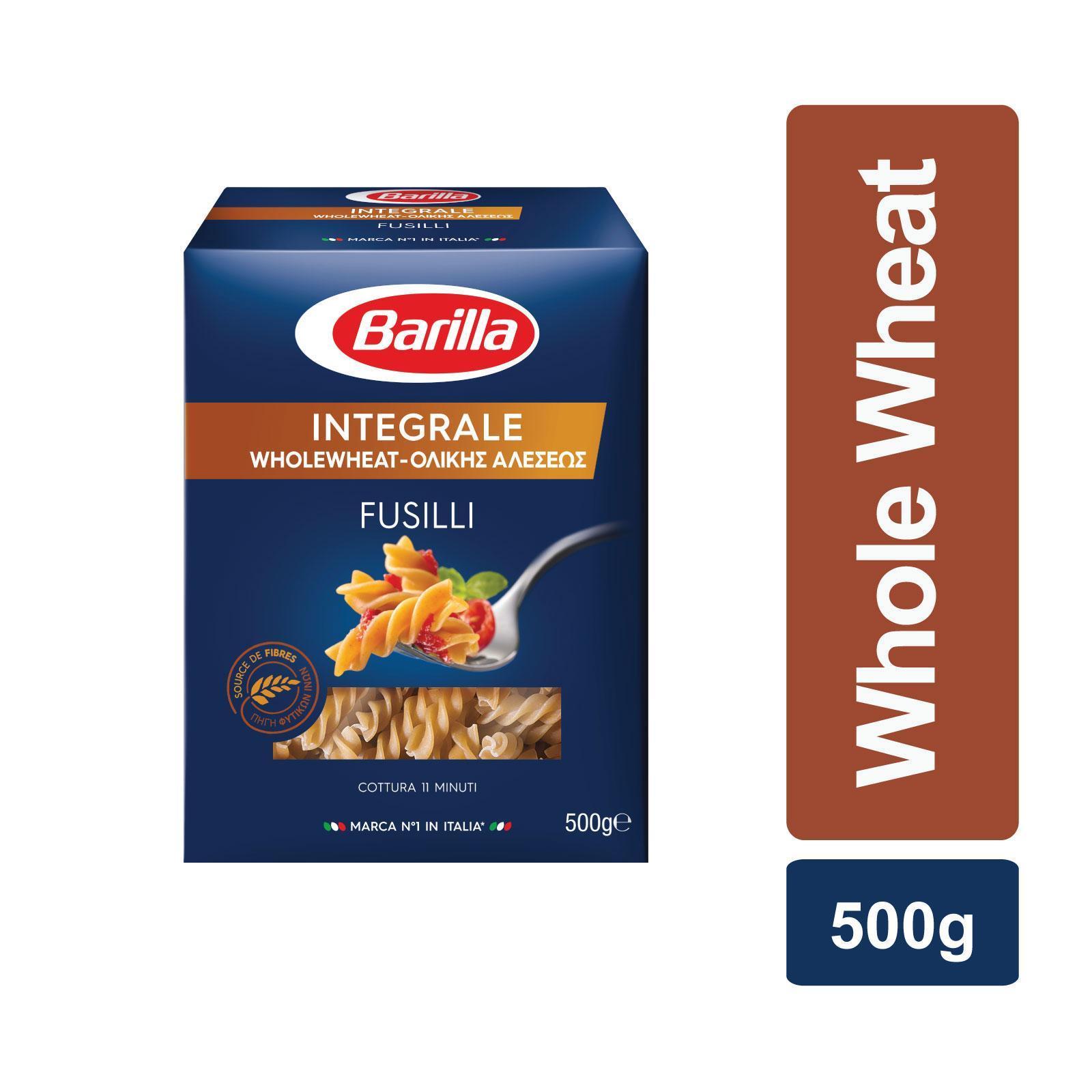 Barilla Fusilli Integrali Whole Wheat Pasta