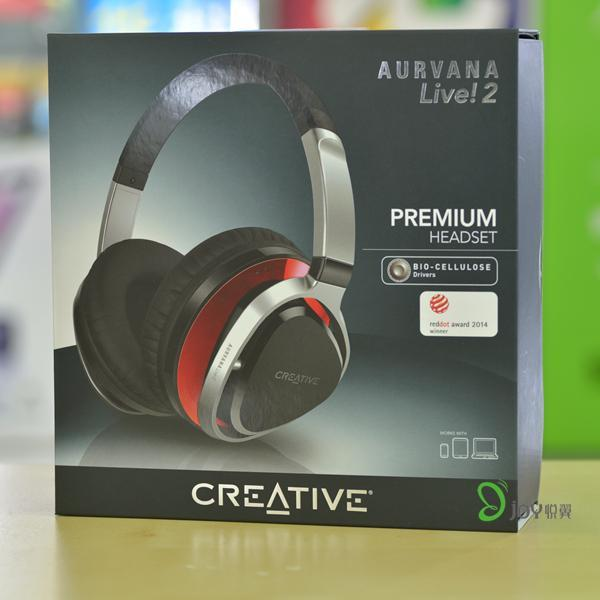 Creative/CREATIVE Live2 Headset Hifi Headphones with Microphone Call-by-Wire Products Licensed Singapore