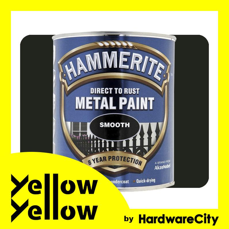 Hammerite Direct To Rust Metal Paint Smooth Finish For Interior & Exterior 750ml (COLORS AVAILABLE)