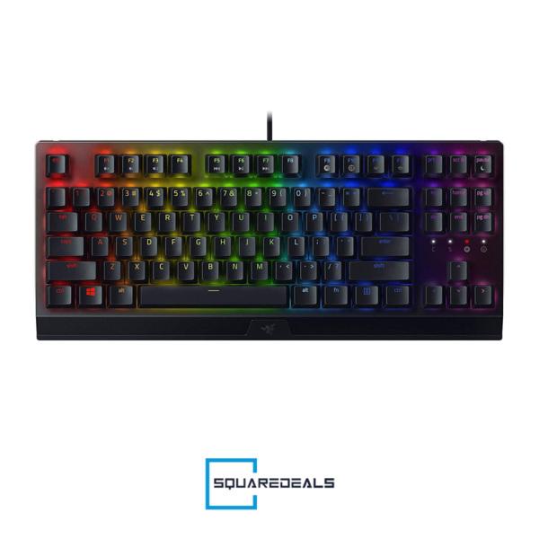 Razer Blackwidow V3 Tenkeyless TKL Chroma Gaming Keyboard Green US Layout Singapore