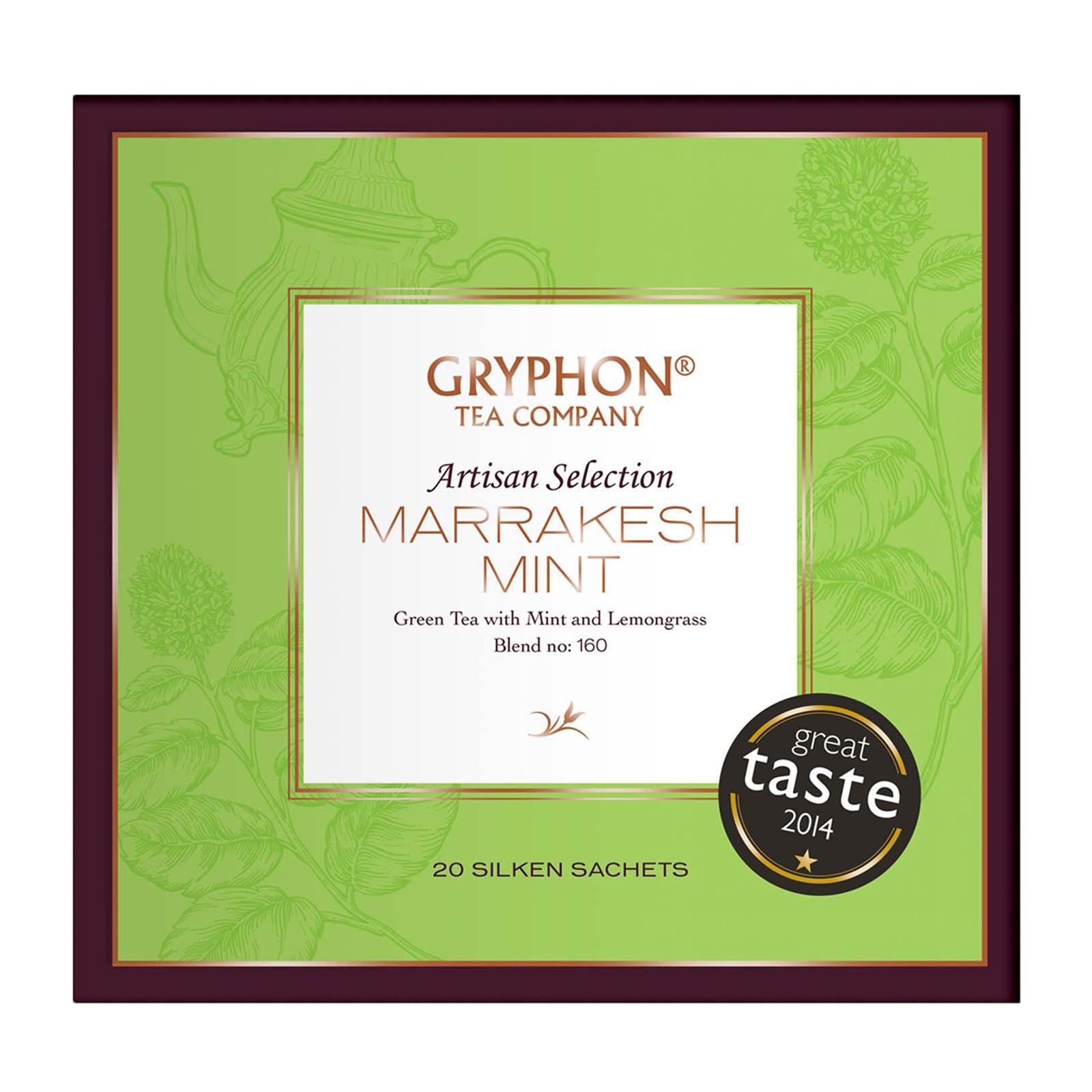 Gryphon Marrakesh Mint Tea By Redmart.