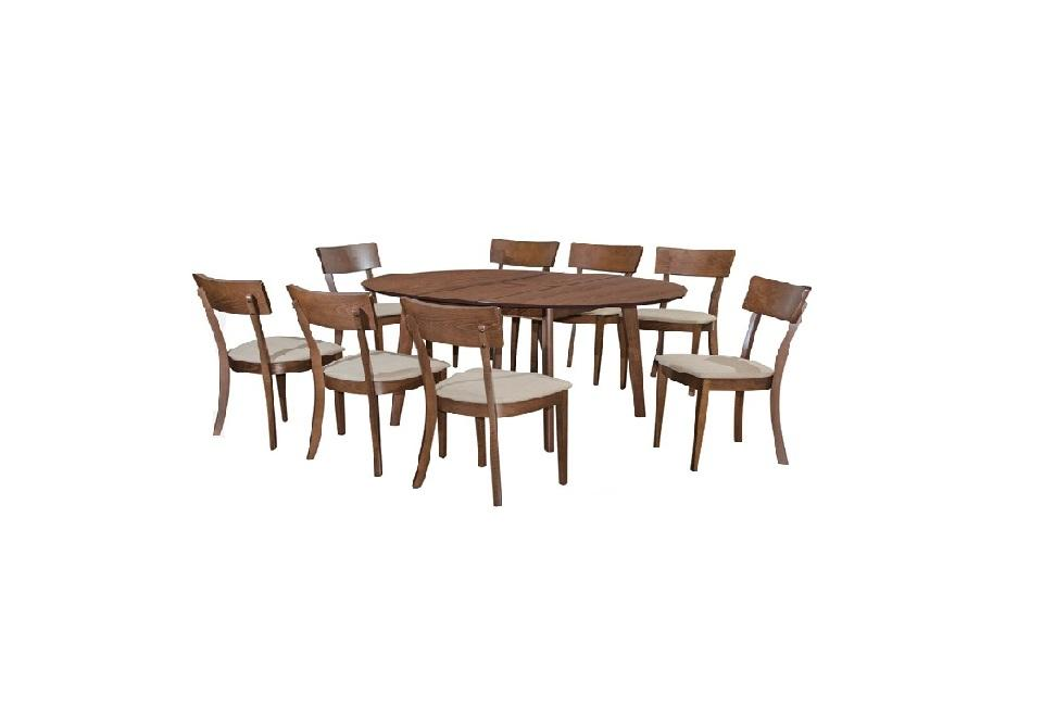 1 + 8 DINING SET /DINING ROOM SET / MEJA KERUSI MAKAN / DINNER SET L1200MM X H750MM X T18MM