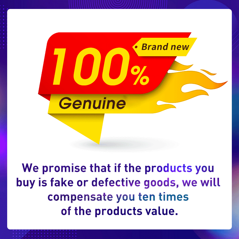 Our Store Pormise ALL the Products are brand new and 100% Genuine Products!!!