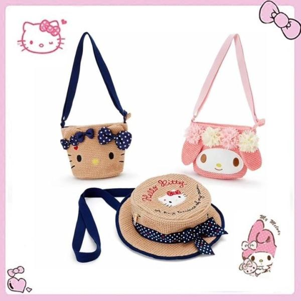 Hello Kitty Melody Kids Sling bag  Chinese New Year Red Packet Bag  Children Travel Holiday Bag