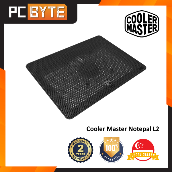 Cooler Master Notepal L2 - Cooler Pad With 160MM Large Fan Up To 17 Laptop