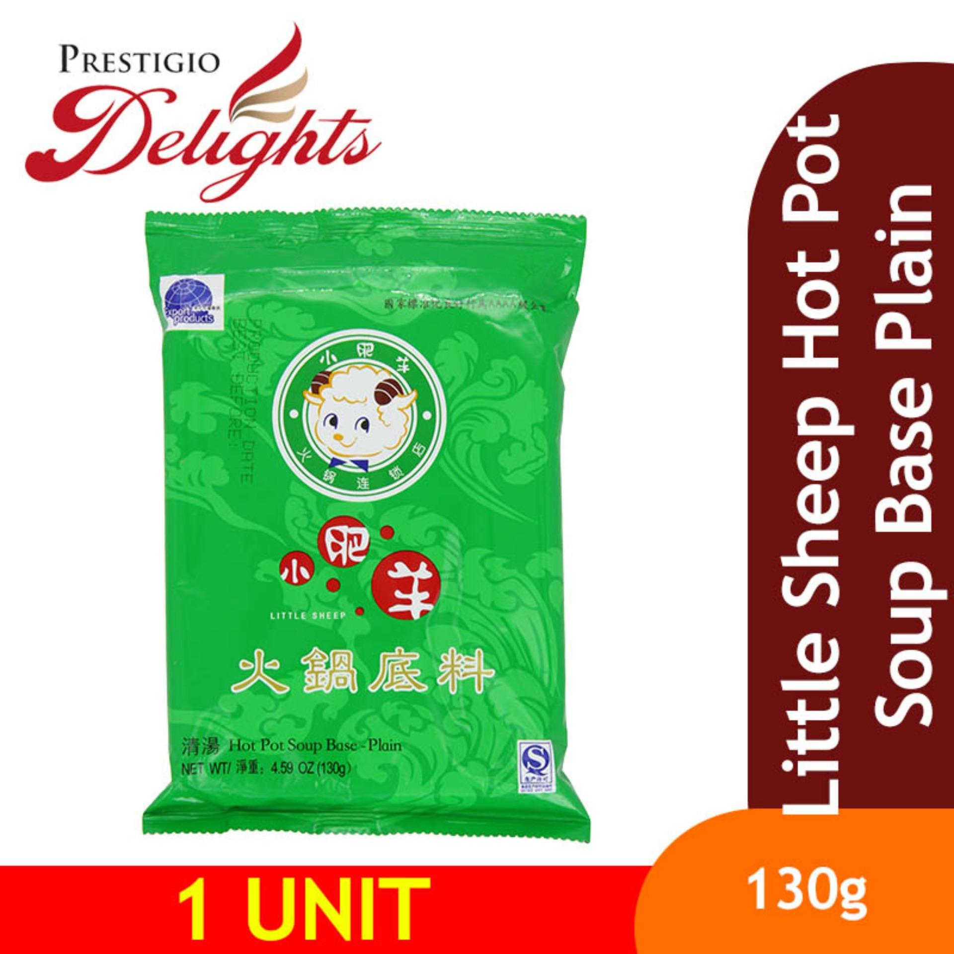 Little Sheep Hot Pot Soup Base Plain 130g By Prestigio Delights.