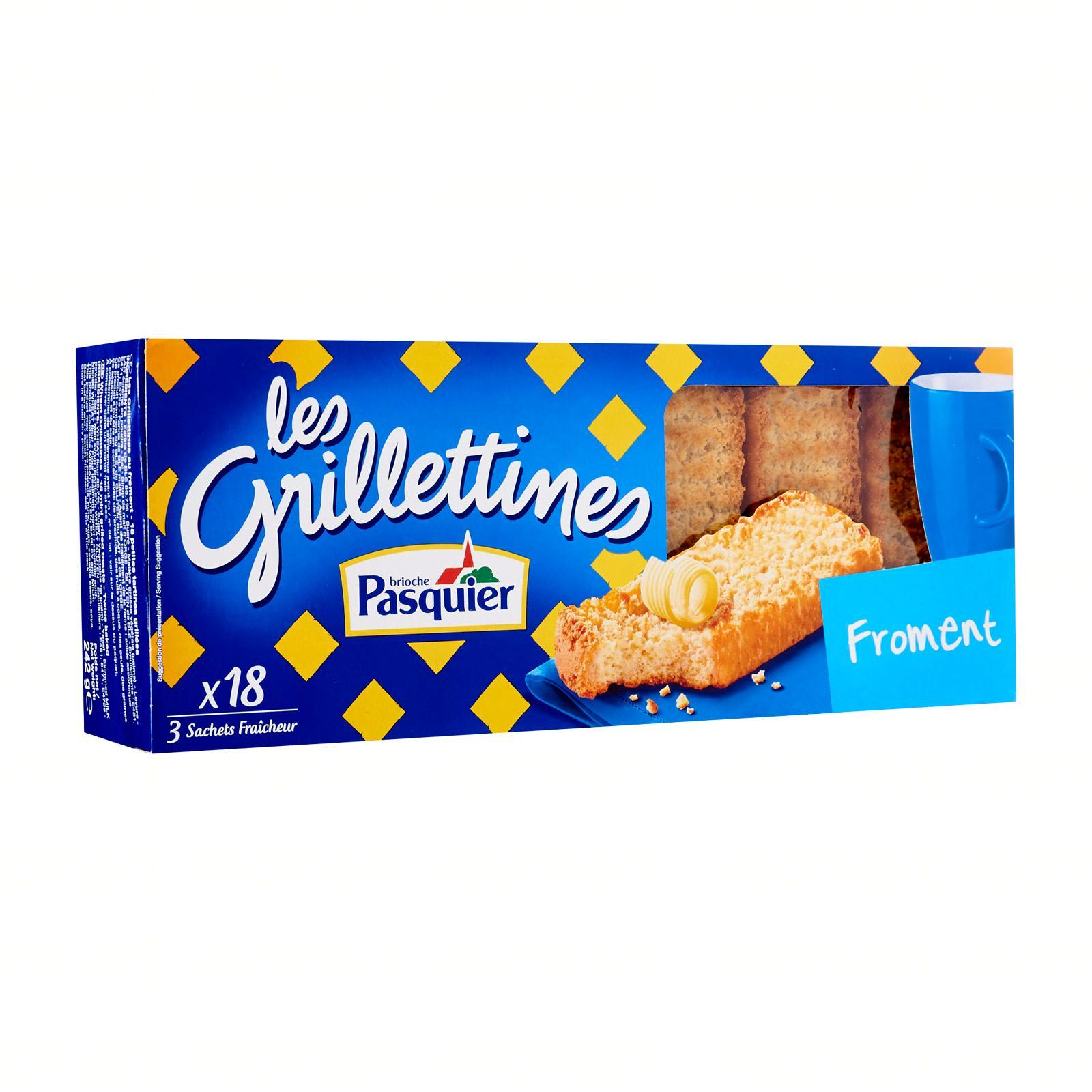 Pasquier Les Grilletines Toasts - By Le Petit Depot By Redmart.