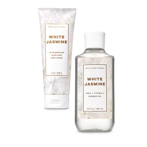 Buy Bath & Body Works : BUNDLE DEAL!!! White Jasmine - Shower Gel and Ultra Shea Body Cream - Bath and Bodyworks - BBW Singapore