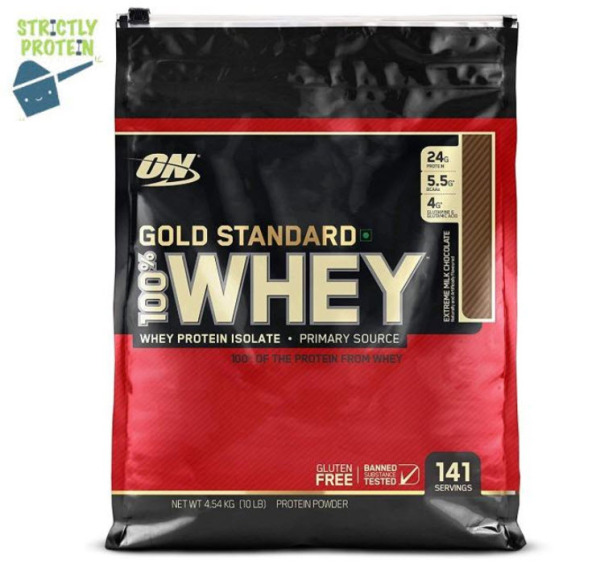 Buy 10lbs, Optimum Nutrition, Gold Standard 100% Whey, Whey Protein, Protein Powder Singapore