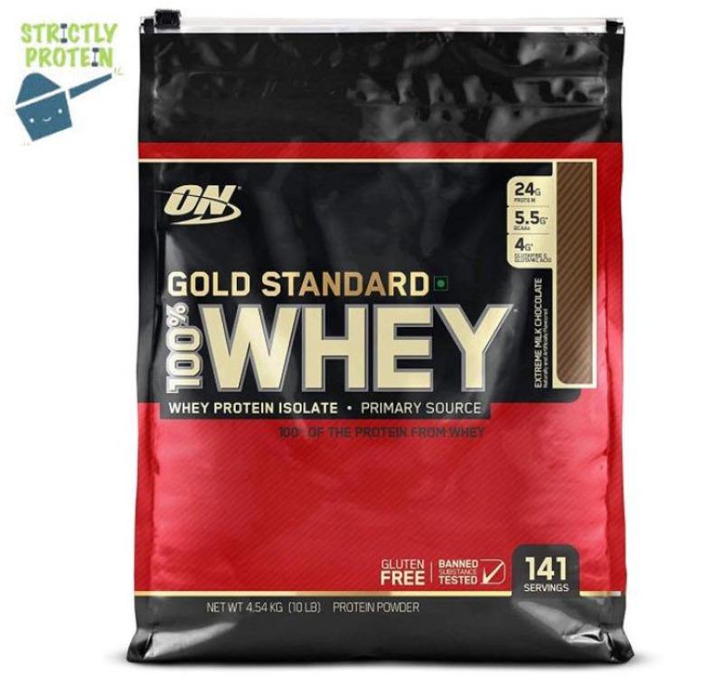 Buy 10lbs, Optimum Nutrition, Gold Standard 100% Whey, Whey Protein, Protein Powder Singapore