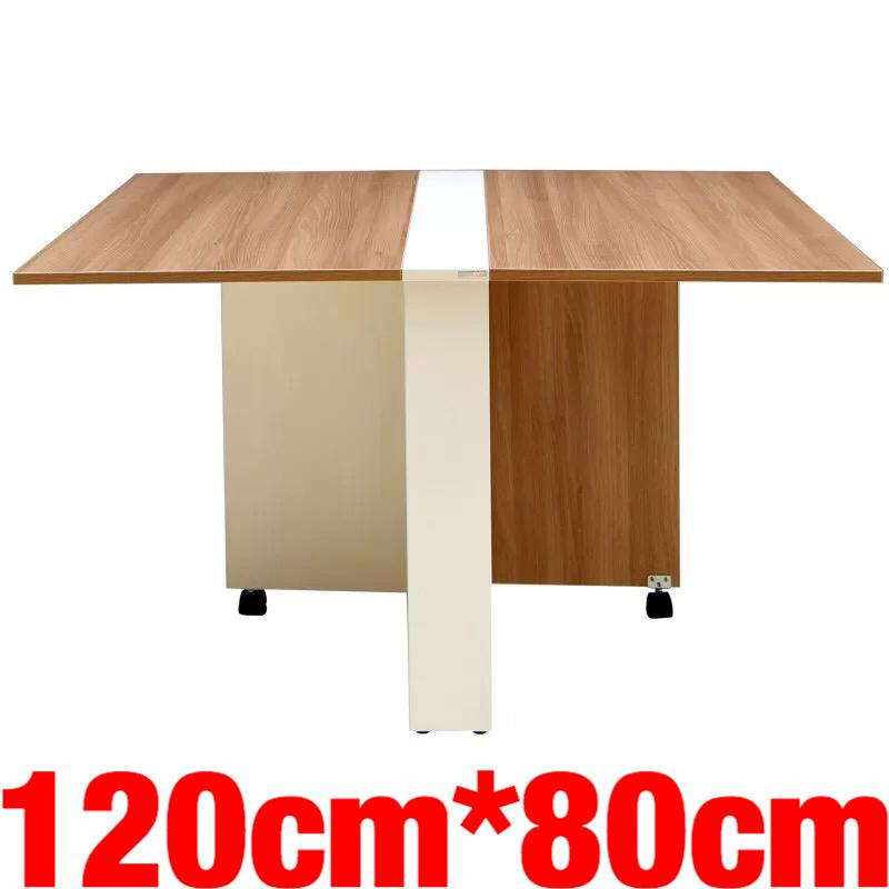 UMD Designer Foldable Dining Table C1 (120*80cm & 140*80cm; refer to color option for size choice only, color all same)