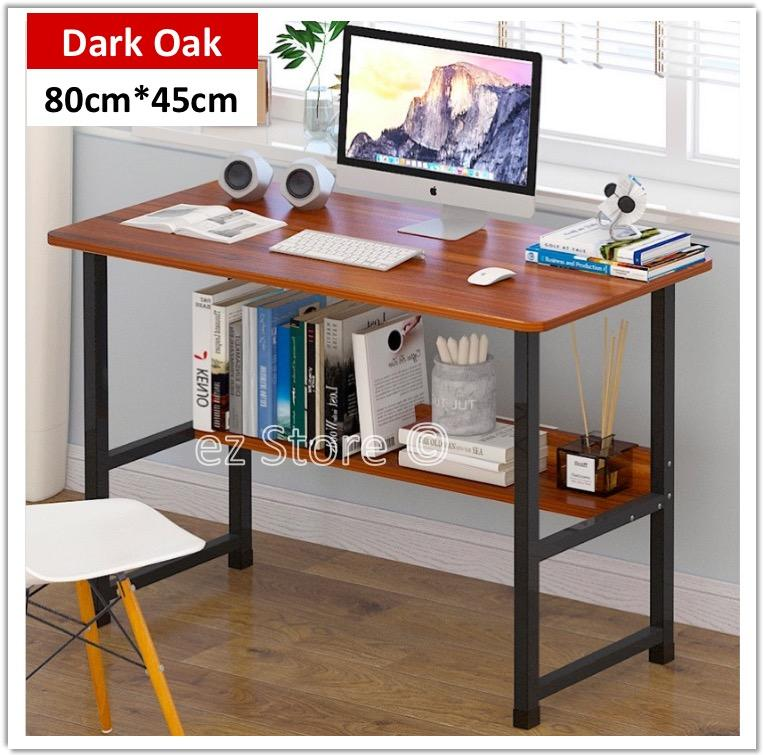 Study Desk Children Study Table Computer Desk Laptop Table Office Stand with PC Notebook Wooden Wood Stand Holder
