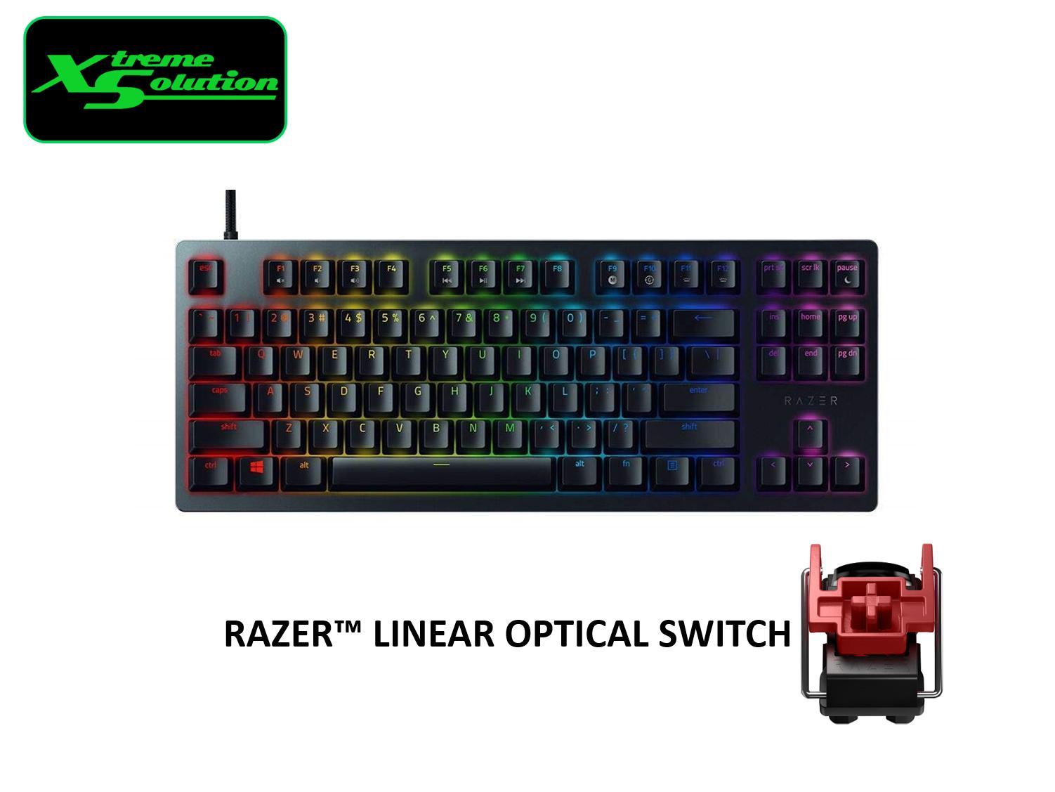 Razer Huntsman Tournament Edition (Razer Linear Optical Switch) Singapore