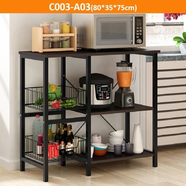 AIDEAL.sg  Kitchen Storage/Kitchen rack/Kitchen shelf/Rack