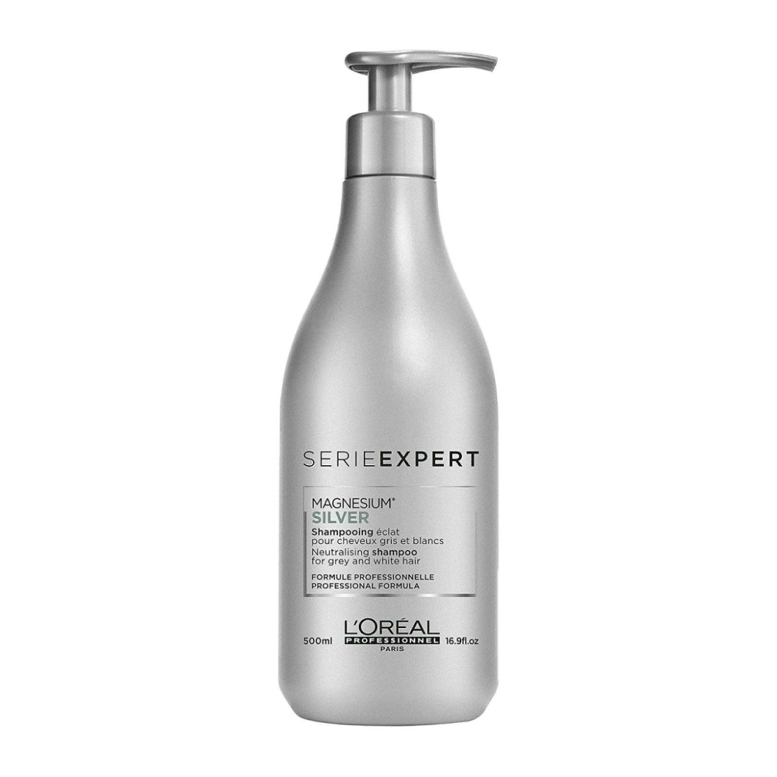L'Oreal Serie Expert Magnesium Silver Shampoo - By Beauty Language