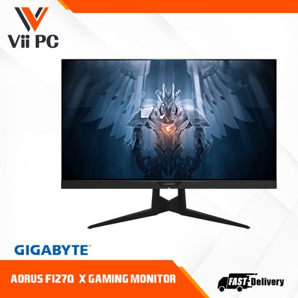 AORUS FI27Q-X 27 240Hz 1440P HBR3, NVIDIA G-SYNC Compatible, SS IPS Gaming Monitor(ANC, 2560x1440 Display, 93% DCI-P3)