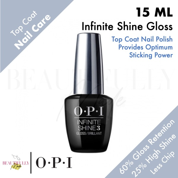 Buy OPI Infinite Shine ProStay Gloss Top Coat 15ml - Less Chipping To Achieving Long-Lasting Nails 60% Higher Gloss Retention and 25% Higher Shine Singapore