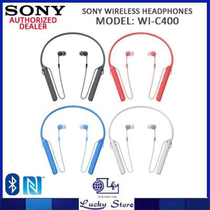 SONY WIRELESS HEADPHONES WI-C400 Singapore