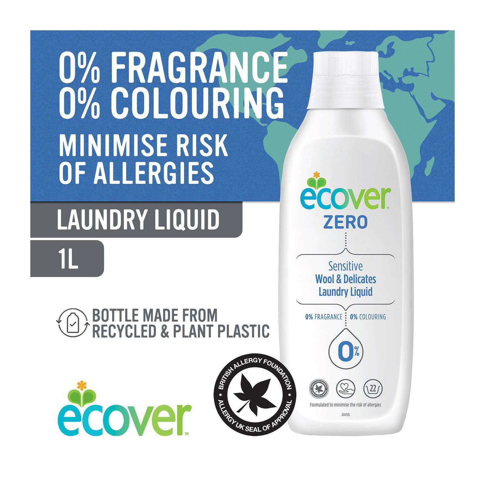 ECOVER Zero Wool And Delicates Laundry Liquid - By Corlison