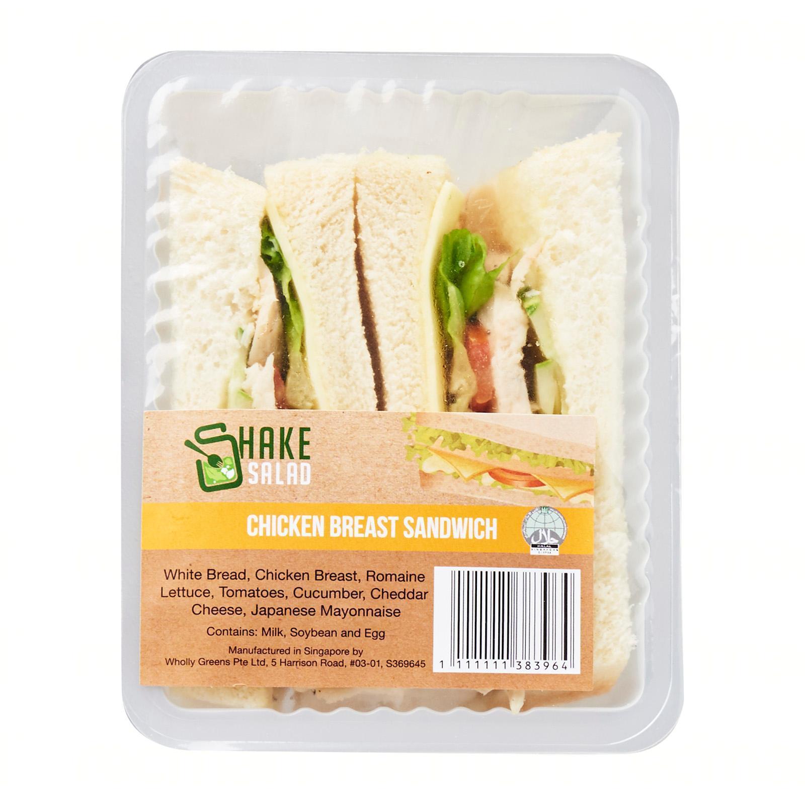 Shake Salad Chicken Breast Sandwich
