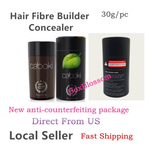 Buy CABOKI-HAIR BUILDING FIBERS Direct From USA 30g 90 Time Supply Loss Hair Treatment Volumizing Hair Concealer Singapore