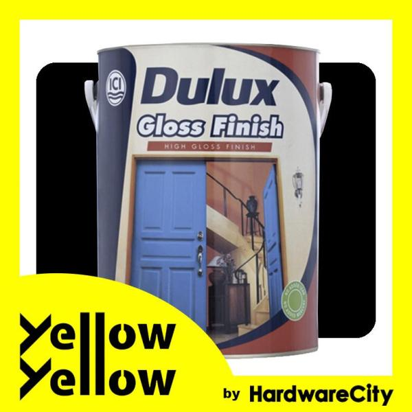 Dulux Gloss Finish Enamel Paint For Metal & Wood 1L - COLORS AVAILABLE