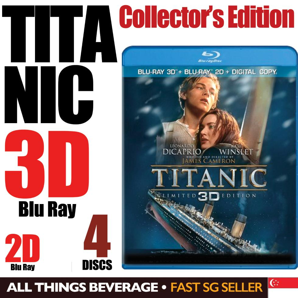 Titanic Blu-ray 3D / Blu-ray / 4 Disc Limited Edition