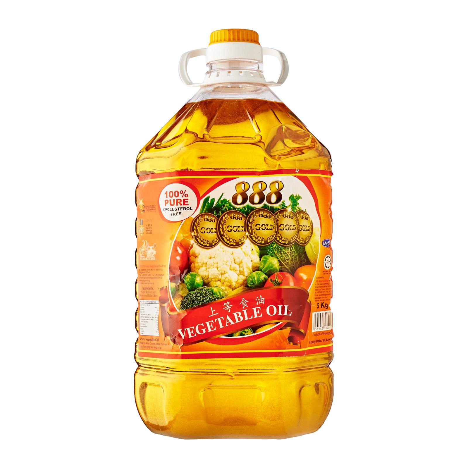 Premium Cooking Vegetable Oil 5kg - By Food Service By Redmart.