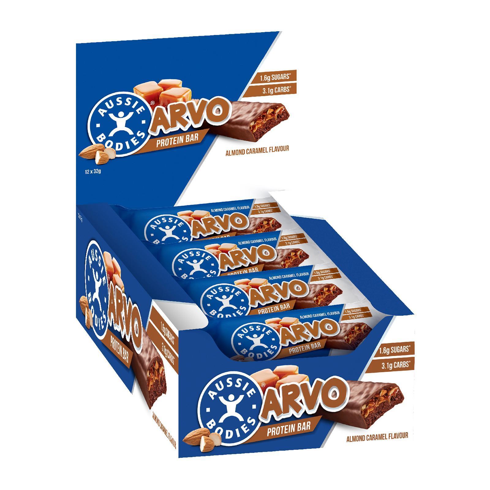 Aussie Bodies Arvo Protein Bar - Almond Caramel