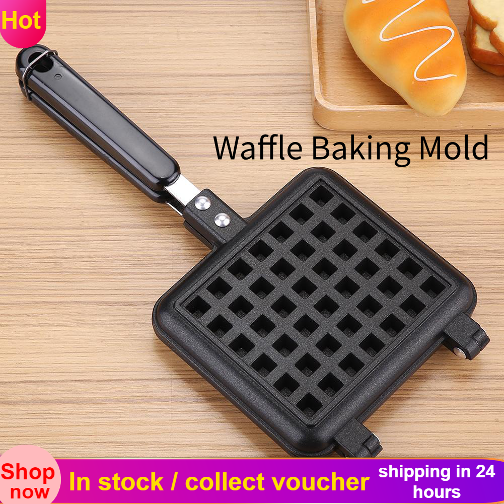 Waffle Machines Household Kitchen Non-Stick Gas Waffle Cone Make Baking Egg Bake roll Tool