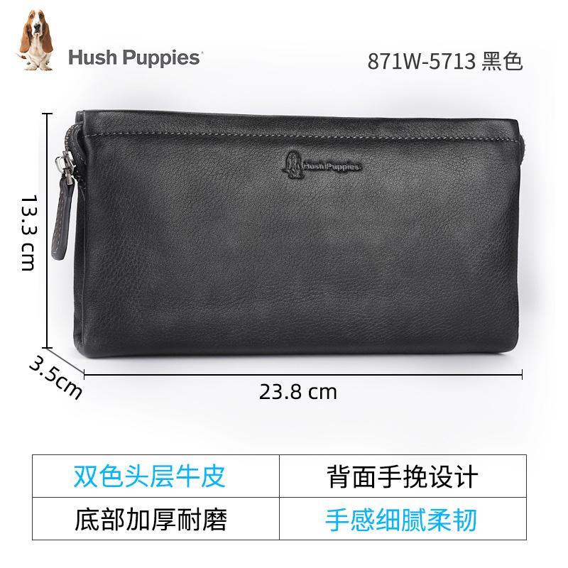 America Hush Puppies 2019 New Style Fashion Handbag Male Leather Men Bags Clutch Envelope Clutch Bag Mens Bag