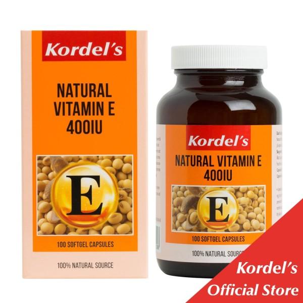 Buy Kordel's Natural Vitamin E 400IU 100s Singapore