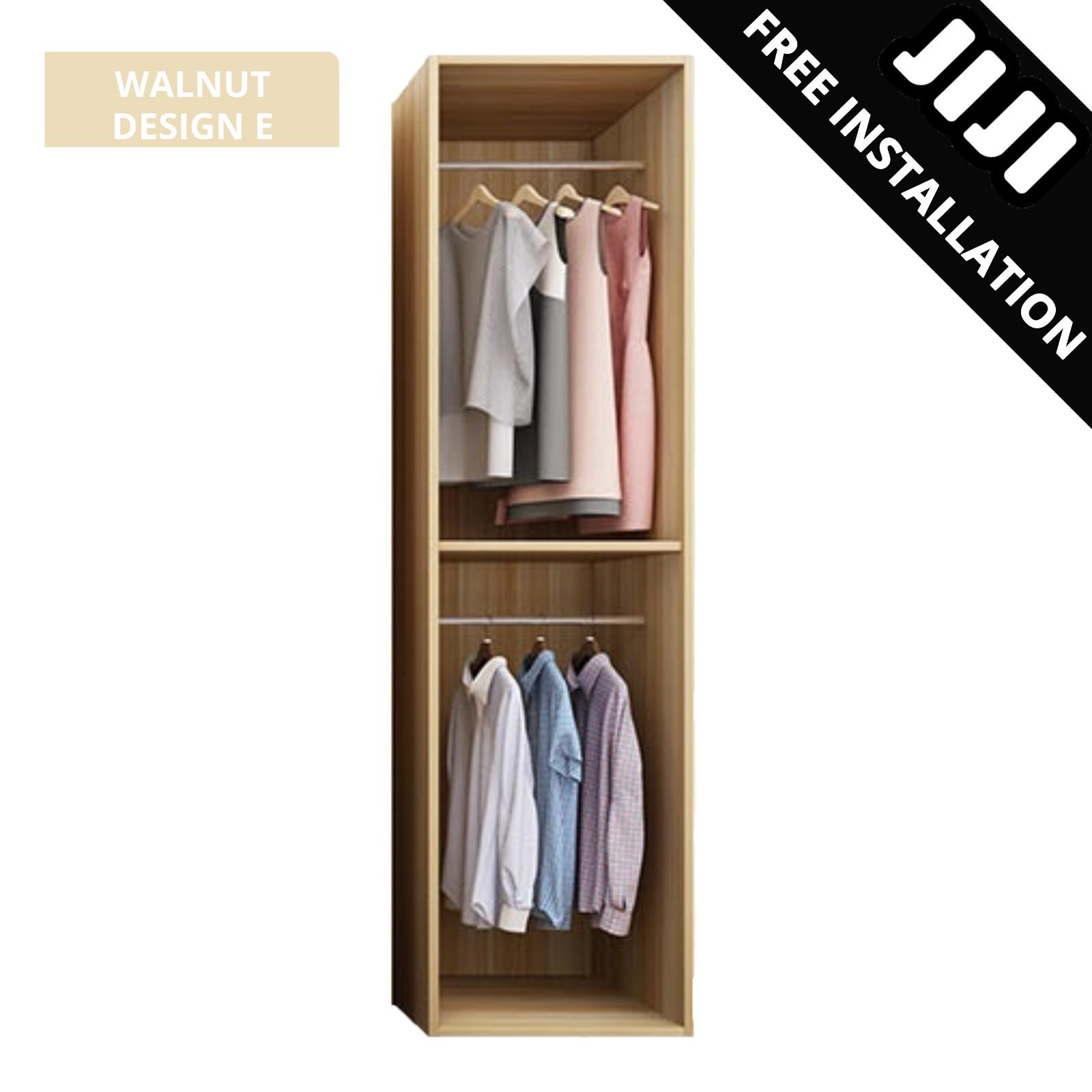 JIJI Computational Formation Wardrobe (Free Installation) - Bedroom Furniture / Wardrobes / 2019 (SG)