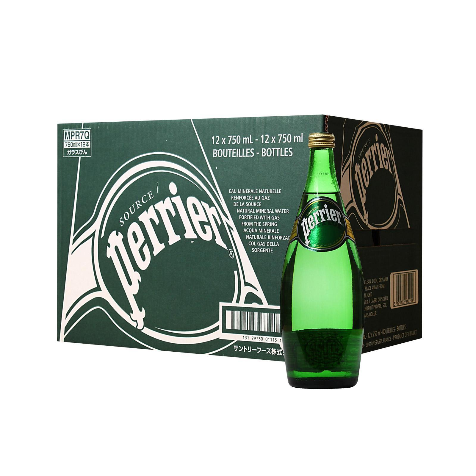 Perrier Sparkling Natural Mineral Water - Case