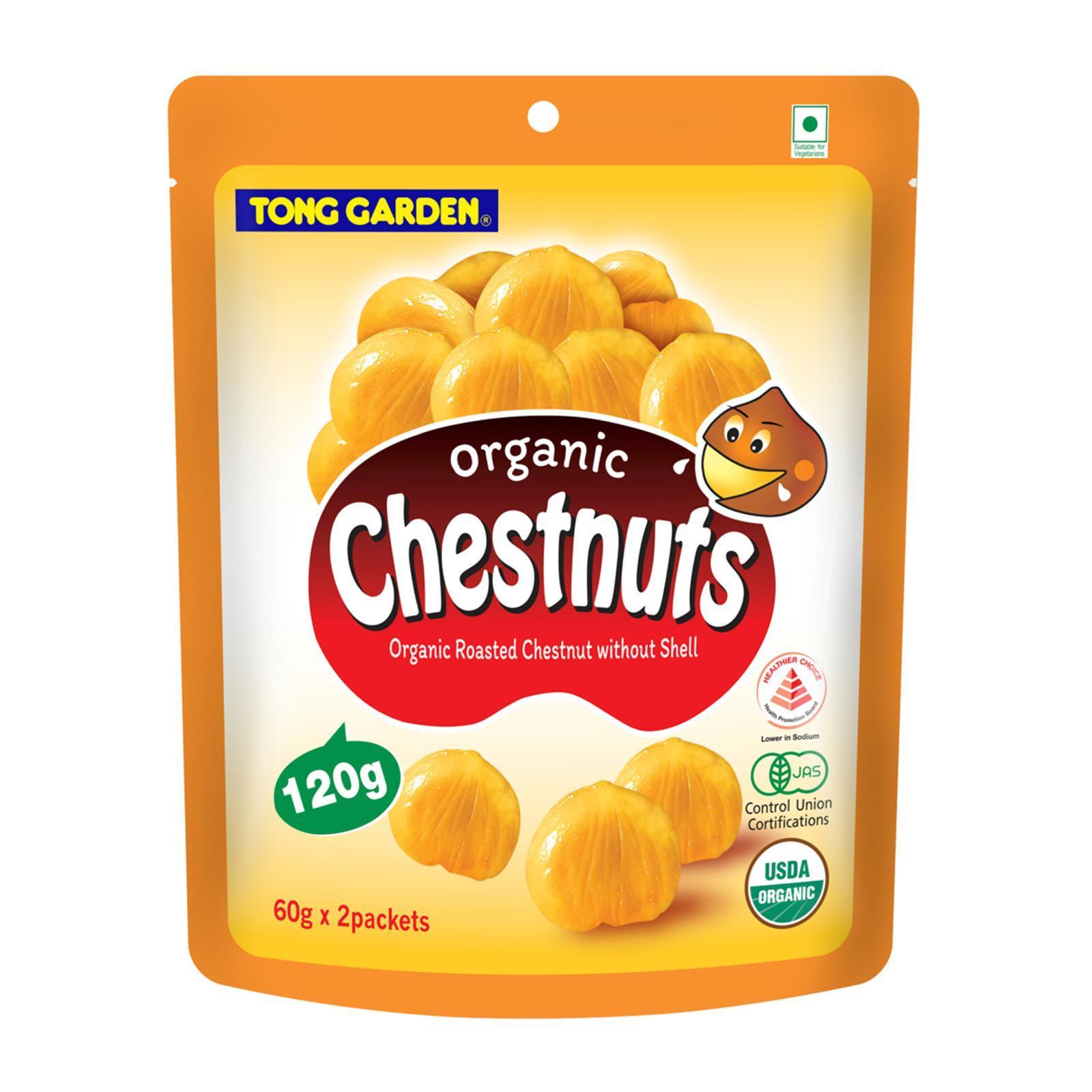 T/Garden Chestnuts W/O Shell 120G