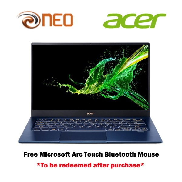 Acer Swift 5 SF514-54GT-78Y7 Thin and light laptop with LATEST 10 Gen Intel i7-1065G7 processor and 16GB RAM