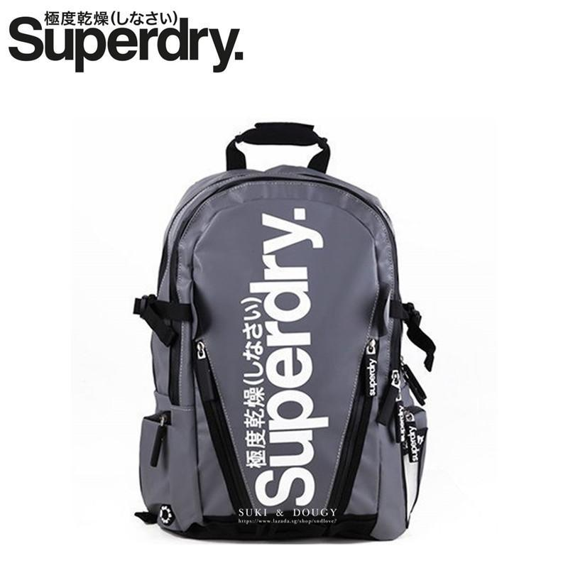 dabc3dafe8f7  SUPERDRY BACKPACK  100% Authentic Waterproof Heavy Duty Multi-function  17inch Laptop Backpack