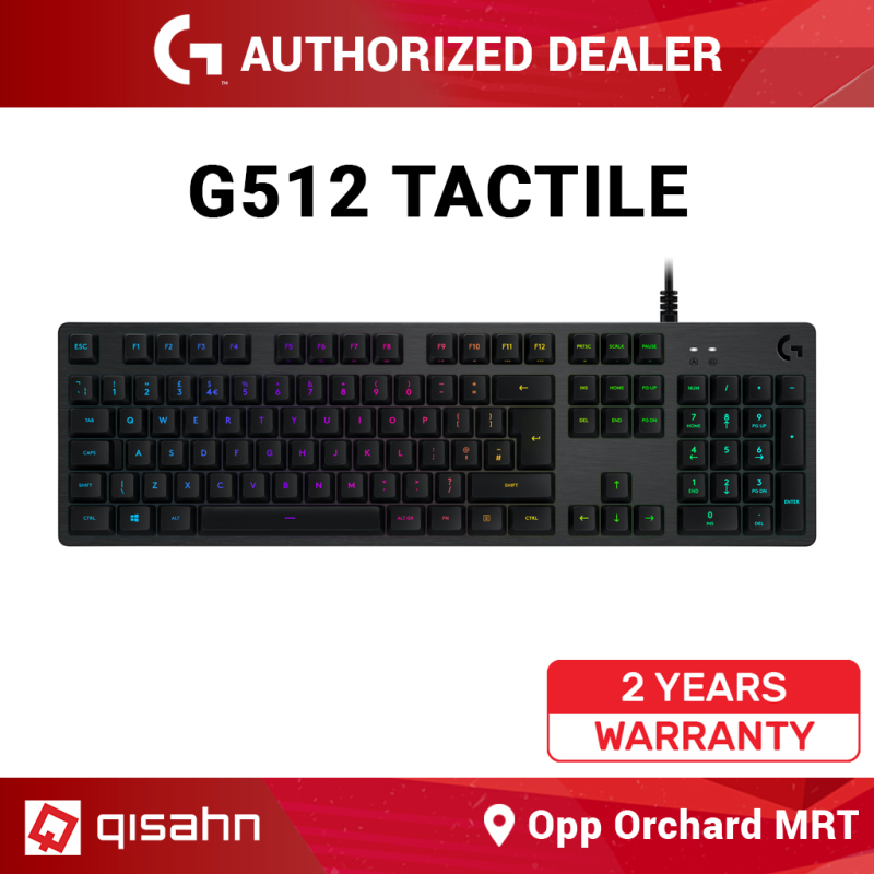 Logitech G512 Carbon RGB Keyboard Singapore