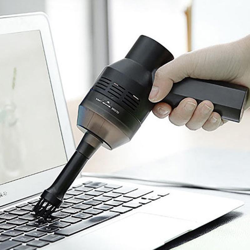 Cầm Tay Mini USB Không Dây Máy Hút Bụi Bàn Phím Máy Tính Để Bàn Mạnh Mẽ Hút