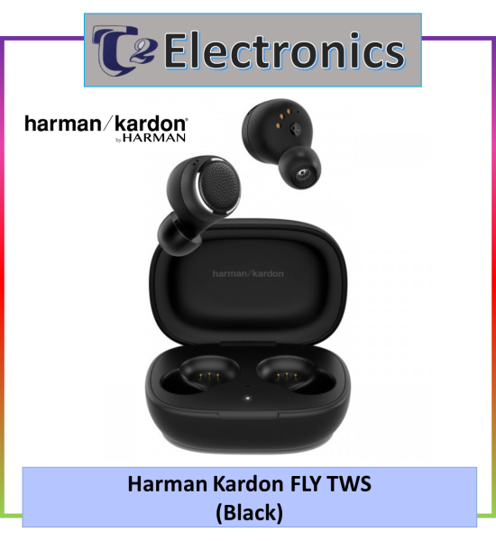 Harman Kardon FLY TWS True Wireless In-Ear Headphones - T2 electronics Singapore