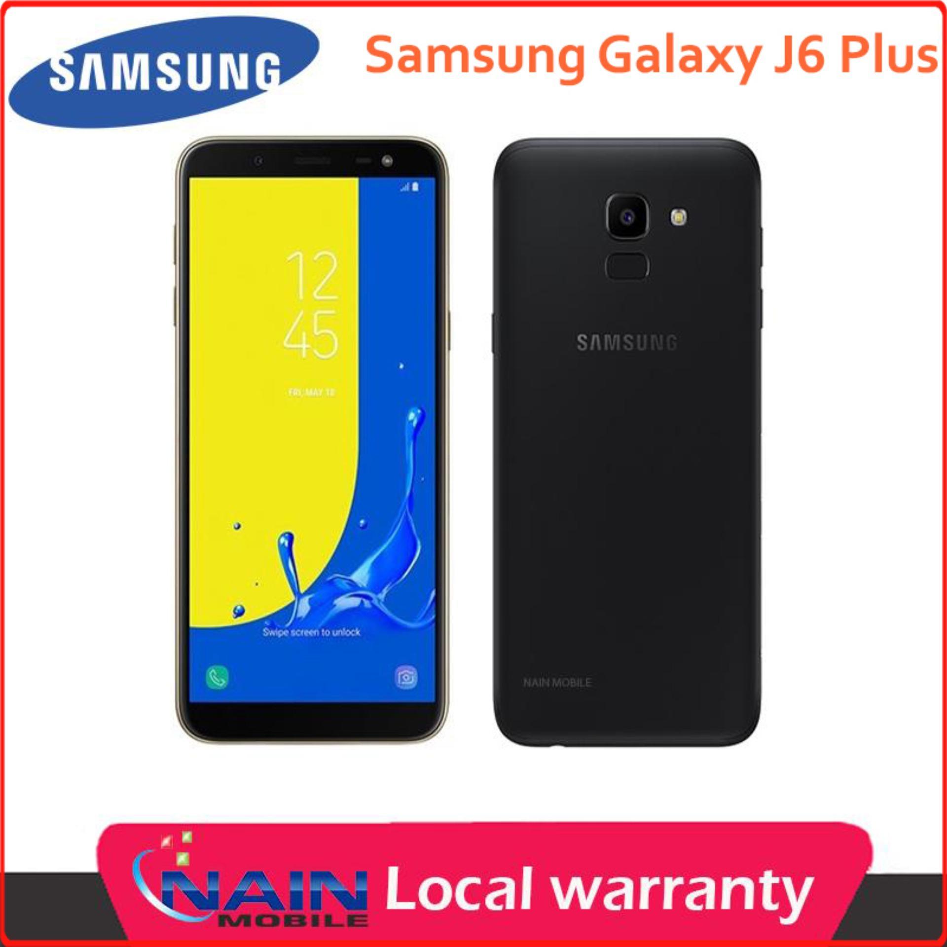 Samsung Galaxy J6 Plus 64/4GB {Latest Model} BLACK/GREY/RED