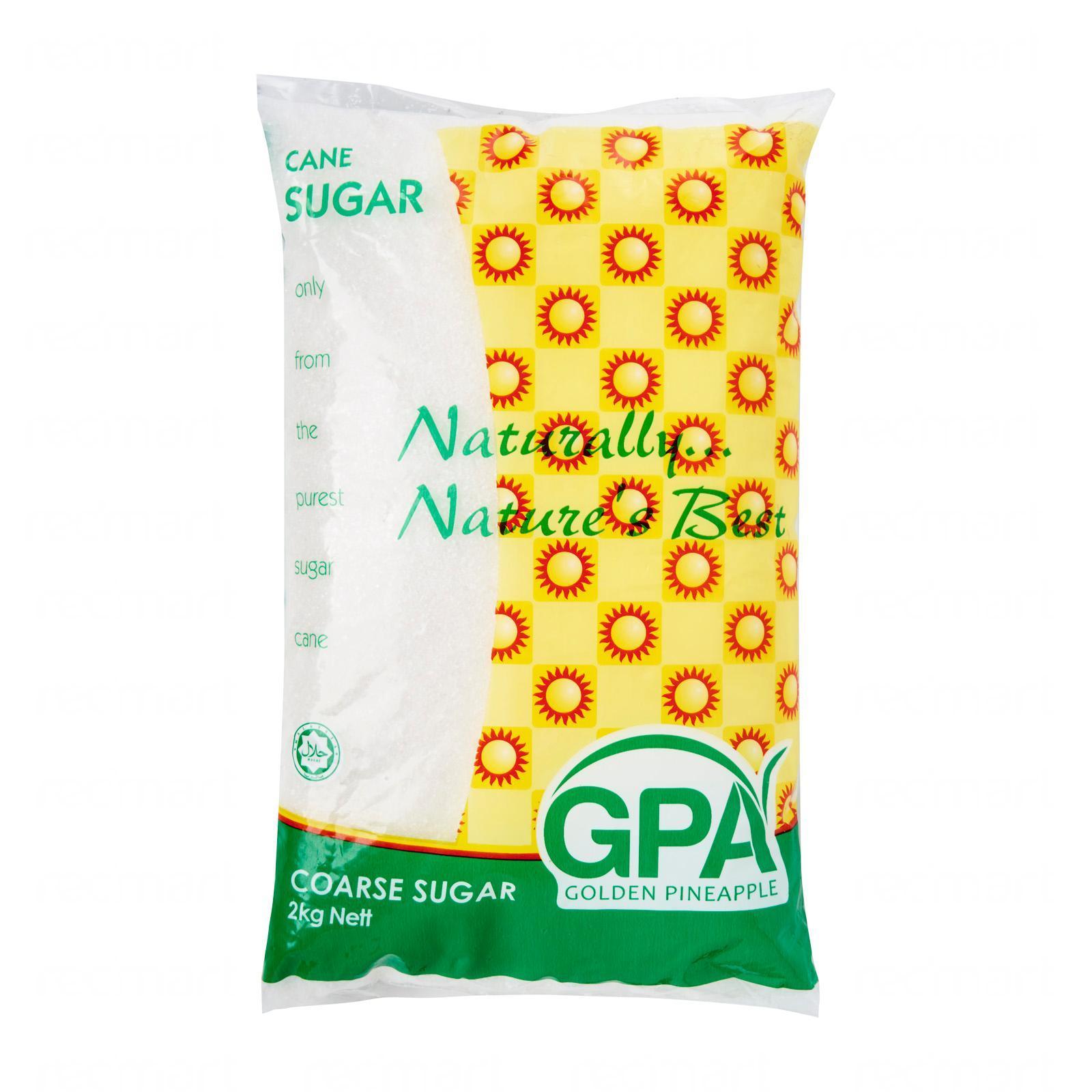 GPA Coarse Grain White Sugar For Baking Confections