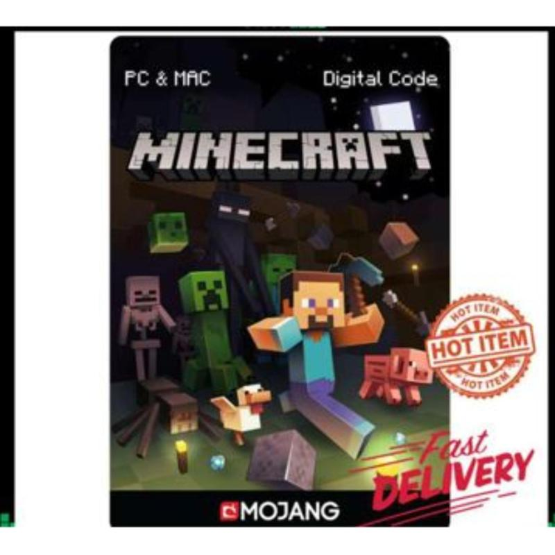 GENUINE Minecraft Java Edition Premium FULL ACCESS PC FULL GAME Digital Download Instantly