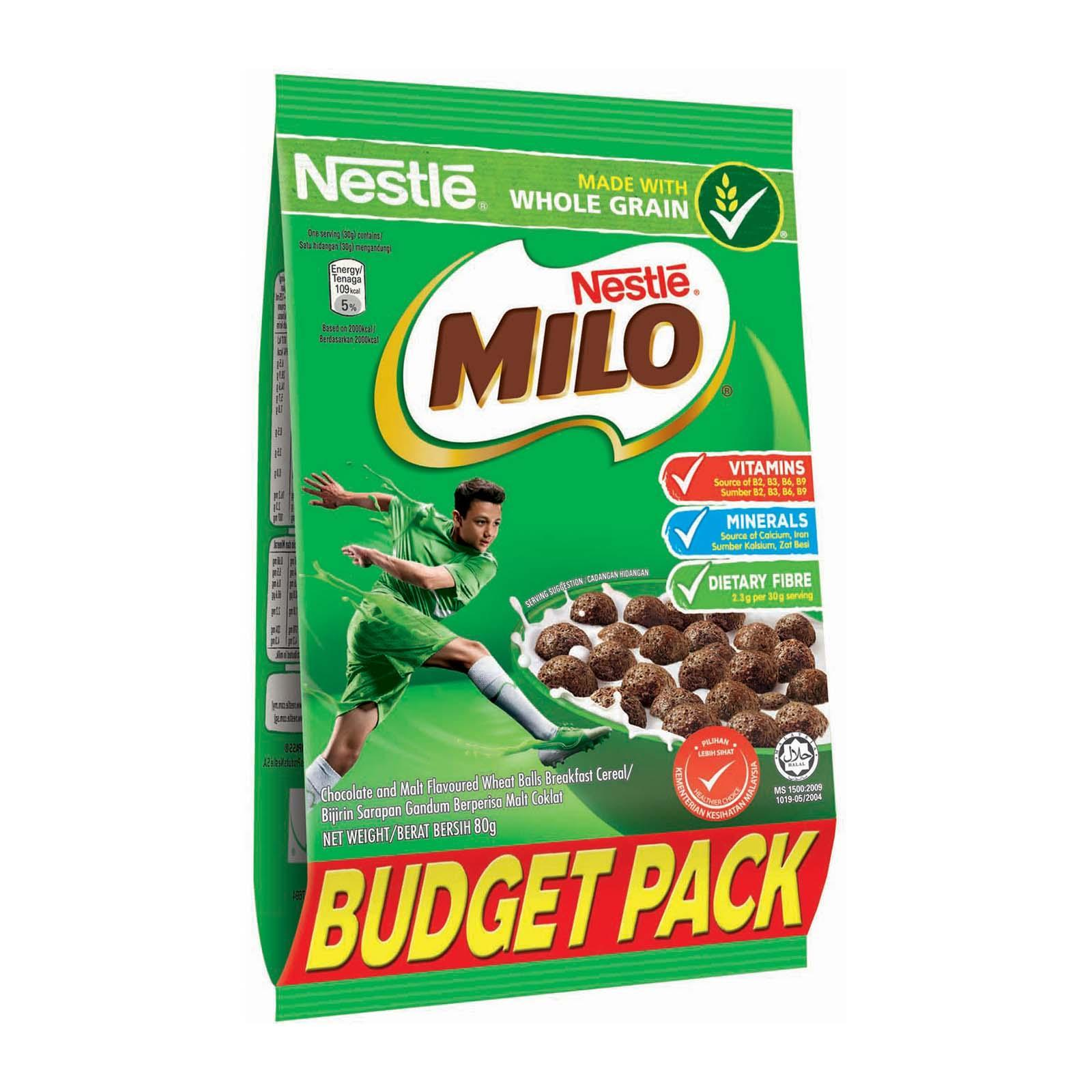 NESTLE MILO Cereal With Whole GrainPouch