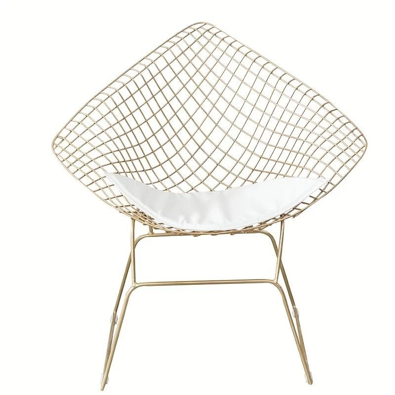 SANCTUARY Modern Wire Frame Armchair