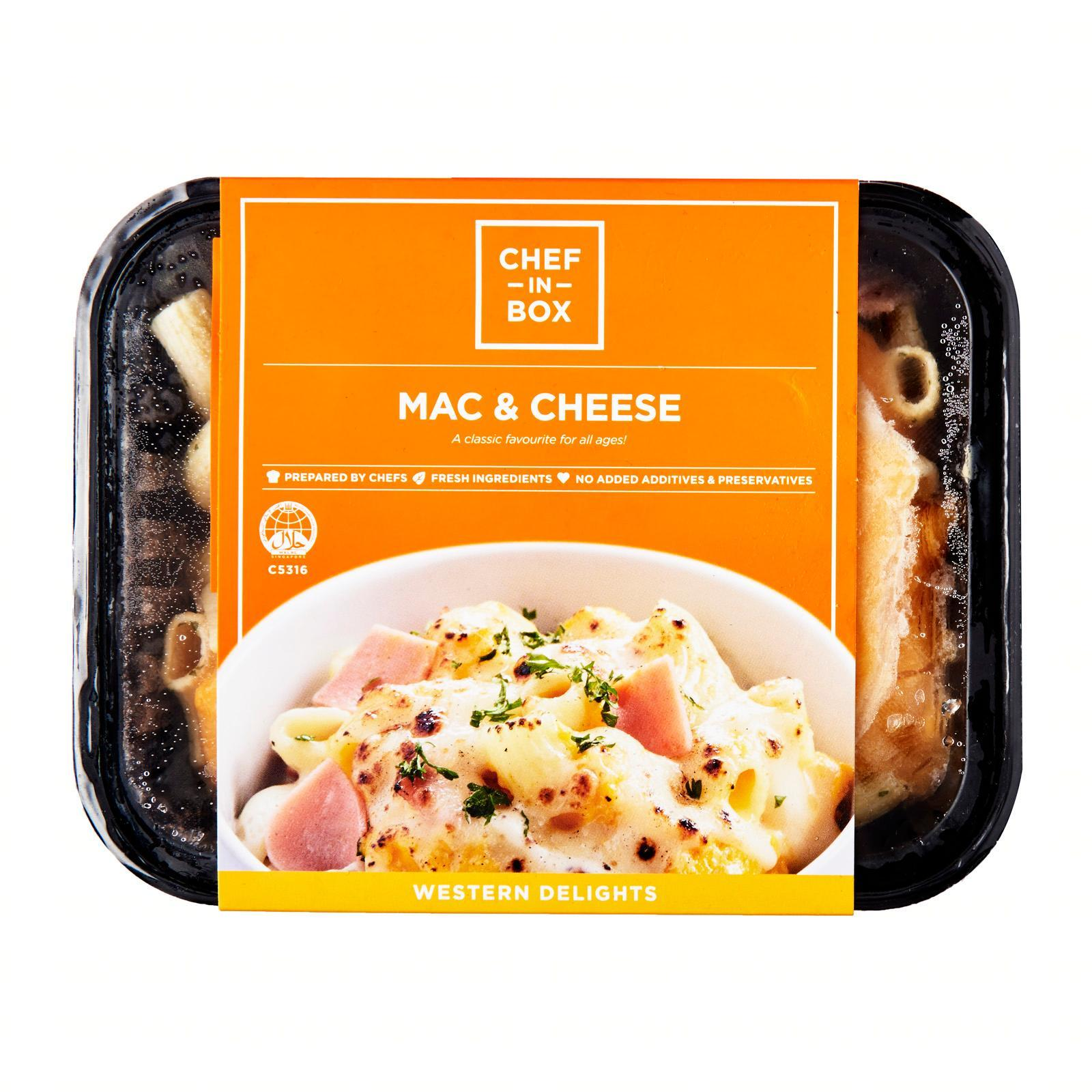 Chef-in-Box Mac And Cheese - Frozen