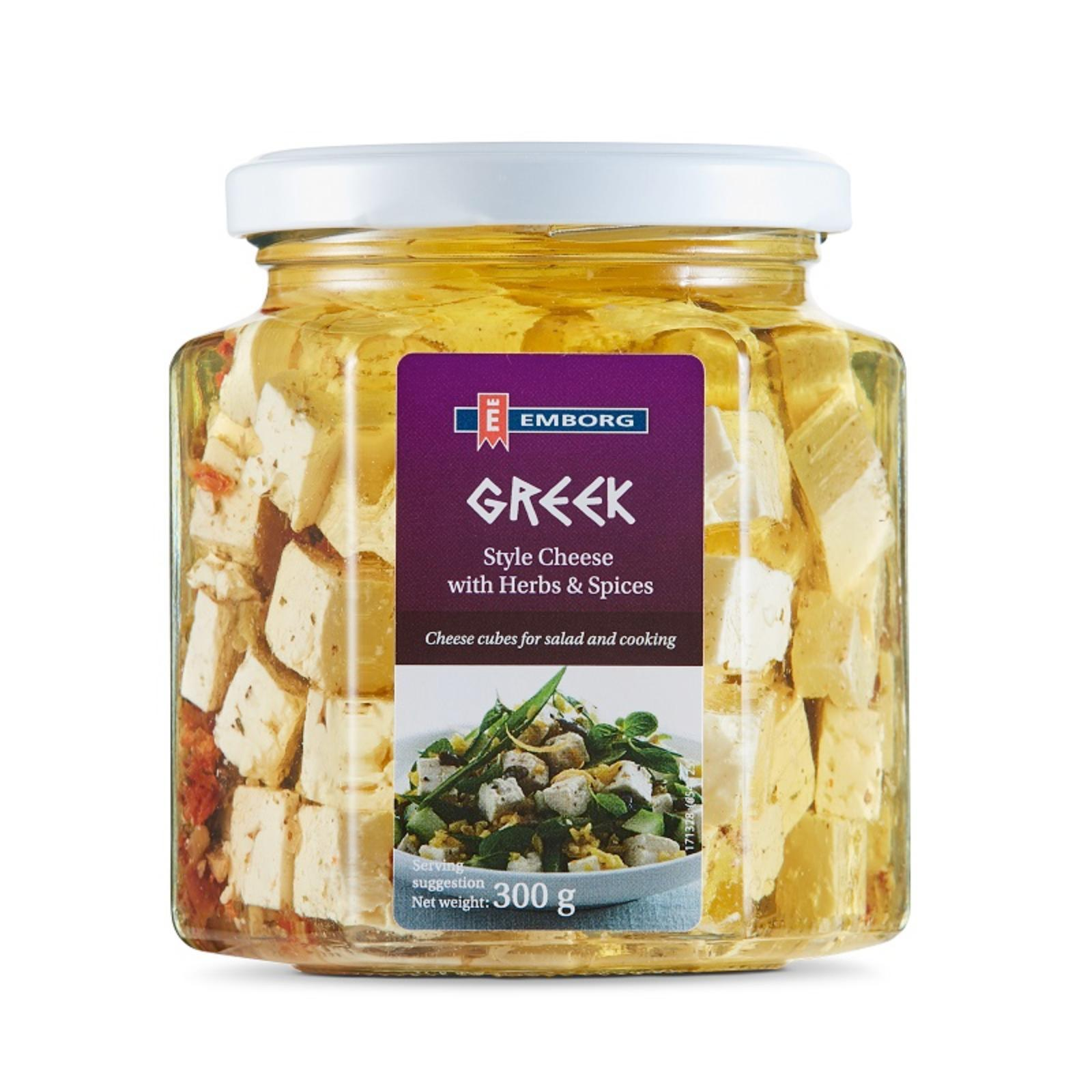 Emborg Greek Style Cheese With Herbs And Spices Cheese By Redmart.
