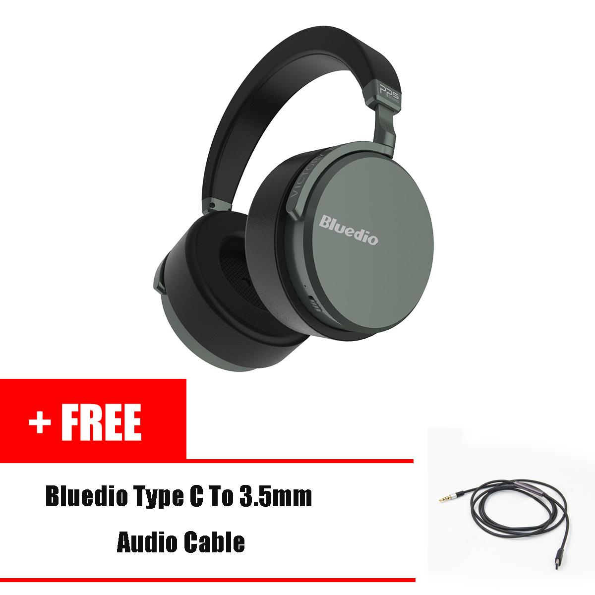 Bluedio V2 Bluetooth headphones Wireless headset PPS12 drivers with  microphone high-end headphone for phone 4acebece6fa4